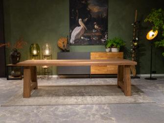 lange eiken tafel