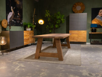 eiken tafel massief
