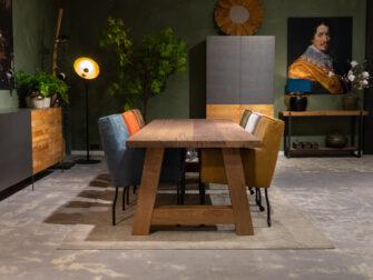 houten tafel