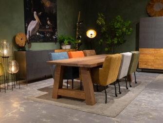 houten eetkamertafel