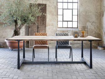 oud eiken eettafel