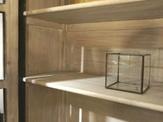 Vitrinekast Fontaine - 140x50x220cm