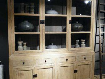 stoere landelijke vitrinekast epernay