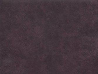 Geschuurd leer - kleur aubergine
