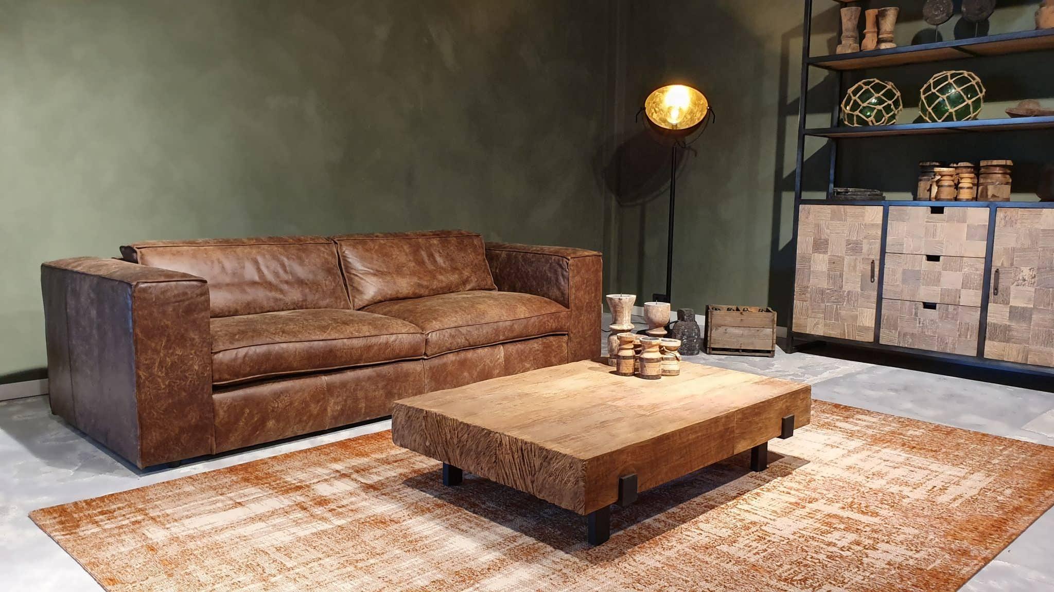 Hoekbank Leer Lounge.Palagano Bank Met Chaise Longue In Ruim 43 Kleuren Robuustetafels Nl