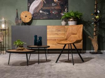 smalle eetkamerstoel