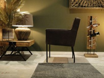 stoere comfortabele stoel