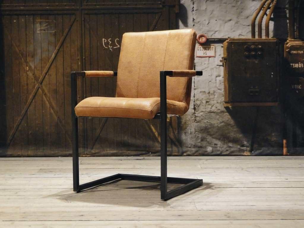 Leren stoel vienne vertical in 6 kleuren robuustetafels.nl