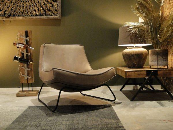 beige relaxstoel