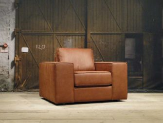 Fauteuil Bardolino - relax stof tobacco
