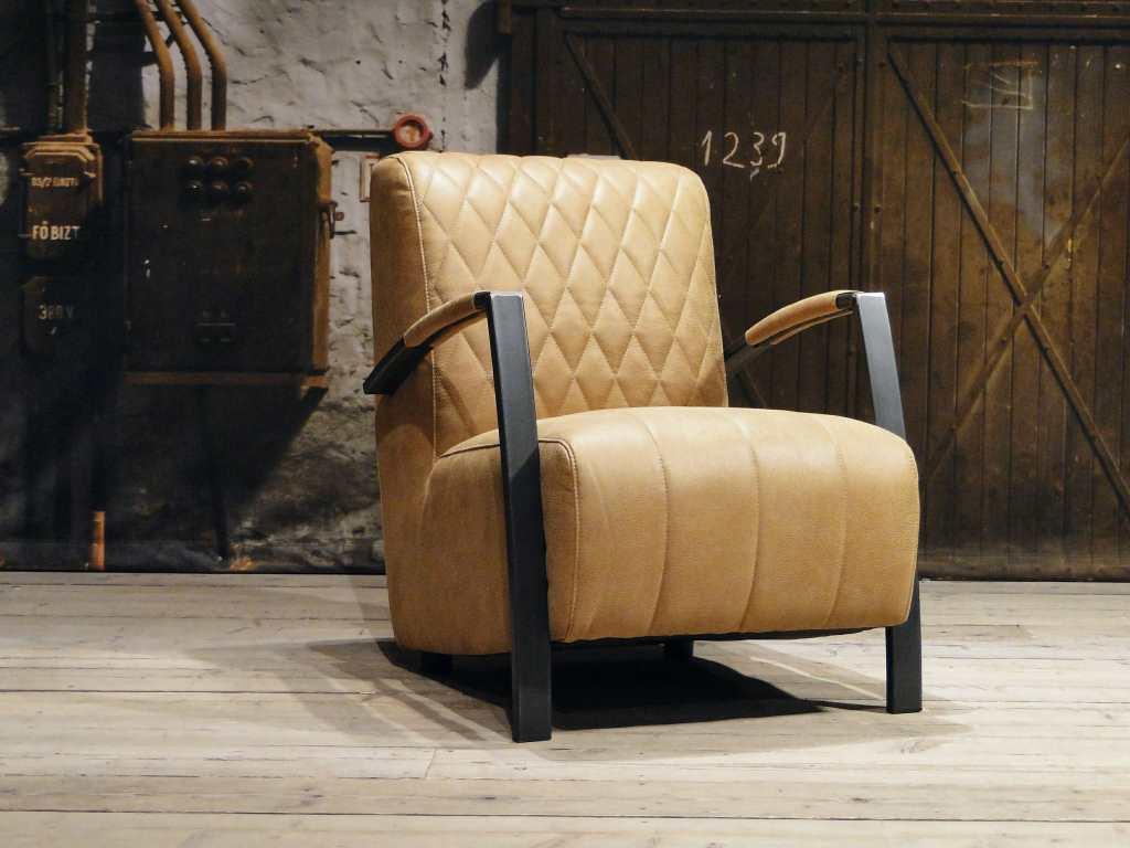 industriele fauteuil camel