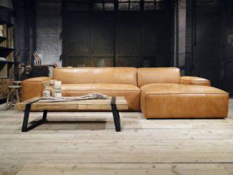 Hoekbank Leer Lounge.Maranello Bank Met Chaise Longue In Ruim 150 Kleuren