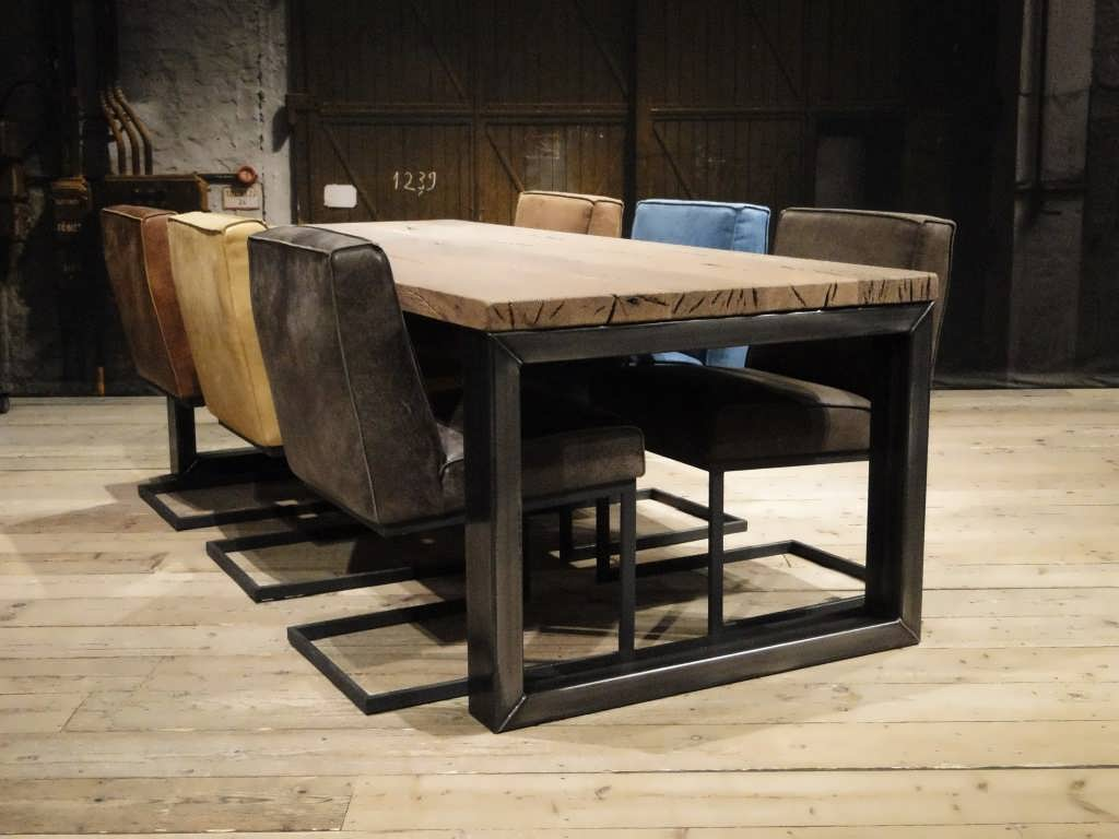 Design Vierkante Eettafel.Barasso Eettafel