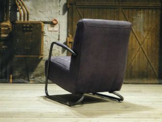 industriele fauteuil paars