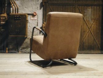 Fauteuil Cambrai vertical - relax stof cinnamon