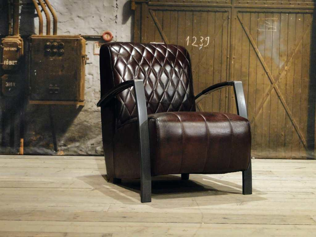 industriele fauteuil brown