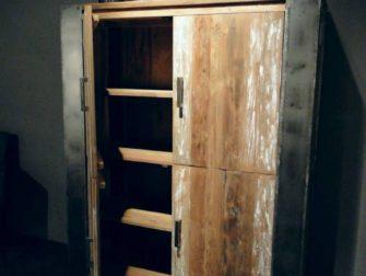 Kast Hout Staal : Kast staal kast hout staal undefined undefined fotous industrile