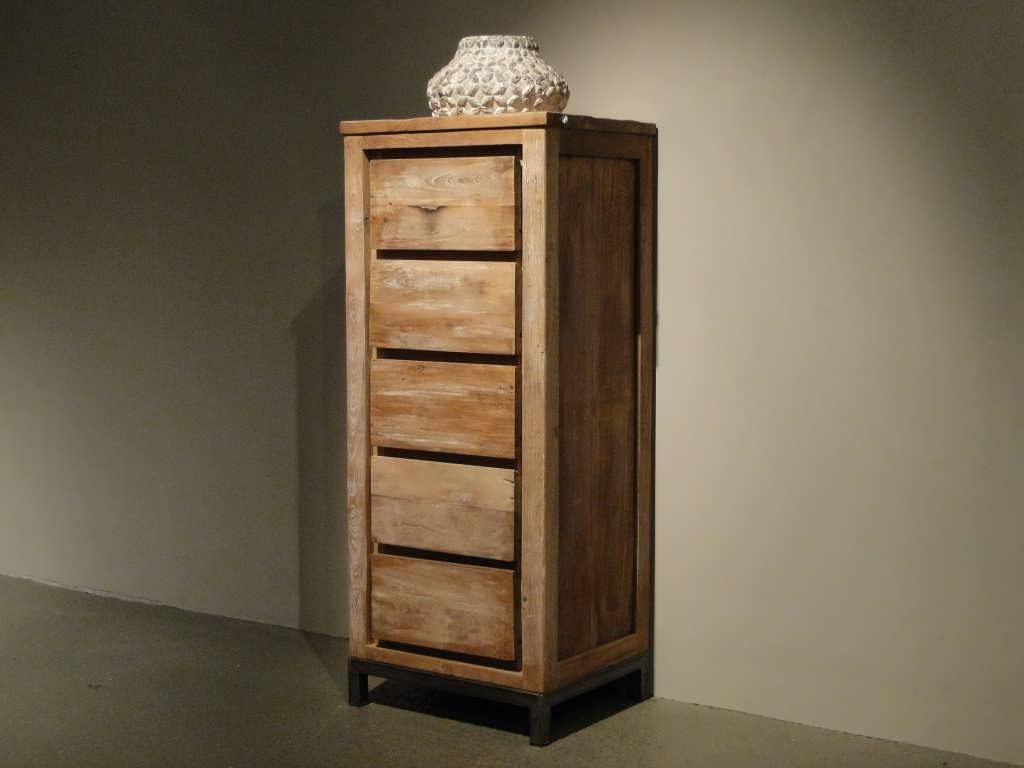 teak houten kast avezzano