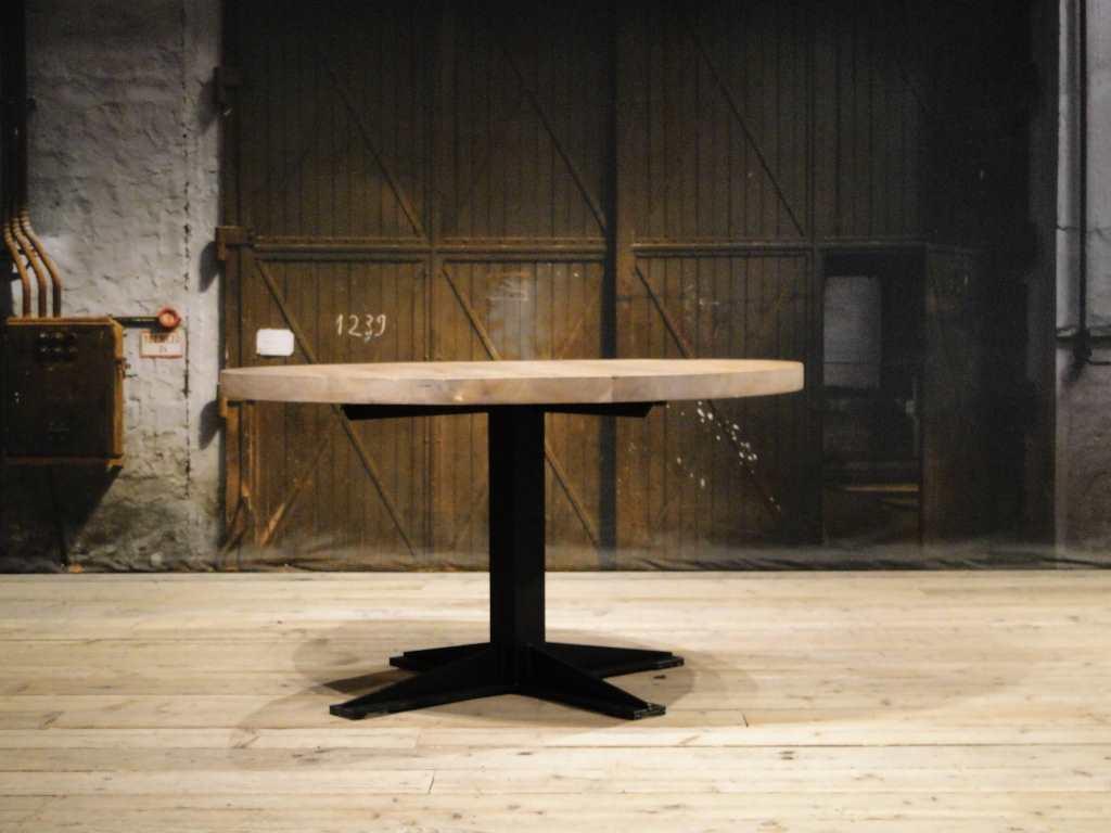 Ronde Tafel Industrieel : Ronde eettafel toulouse ook vierkant verkrijgbaar robuustetafels