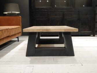 salontafel trapeze poot