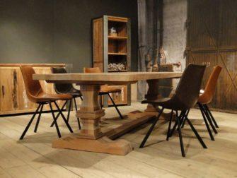 grote eiken kloostertafel
