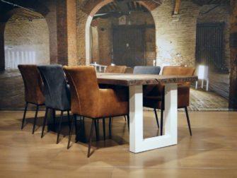 landelijke eiken tafel palau