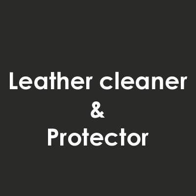 leather cleaner en protector