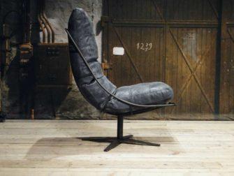 leren draai fauteuil