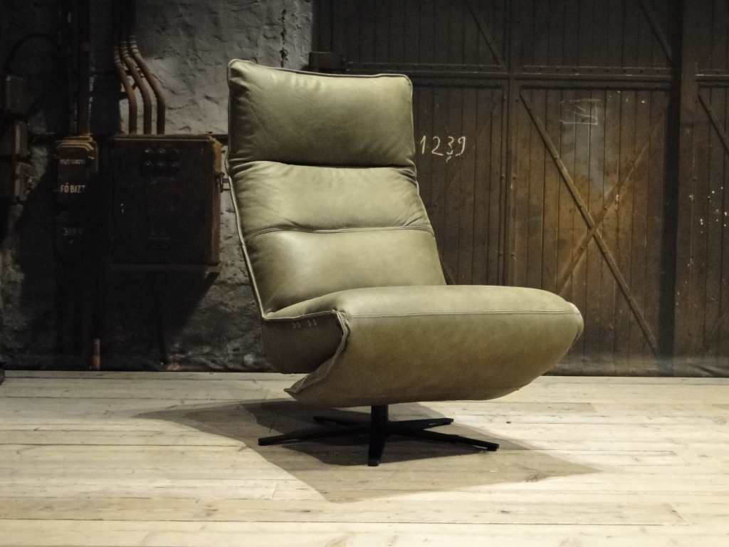 Groene Relax Fauteuil.Nora Fauteuil