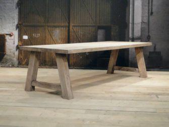 houten a poot tafel