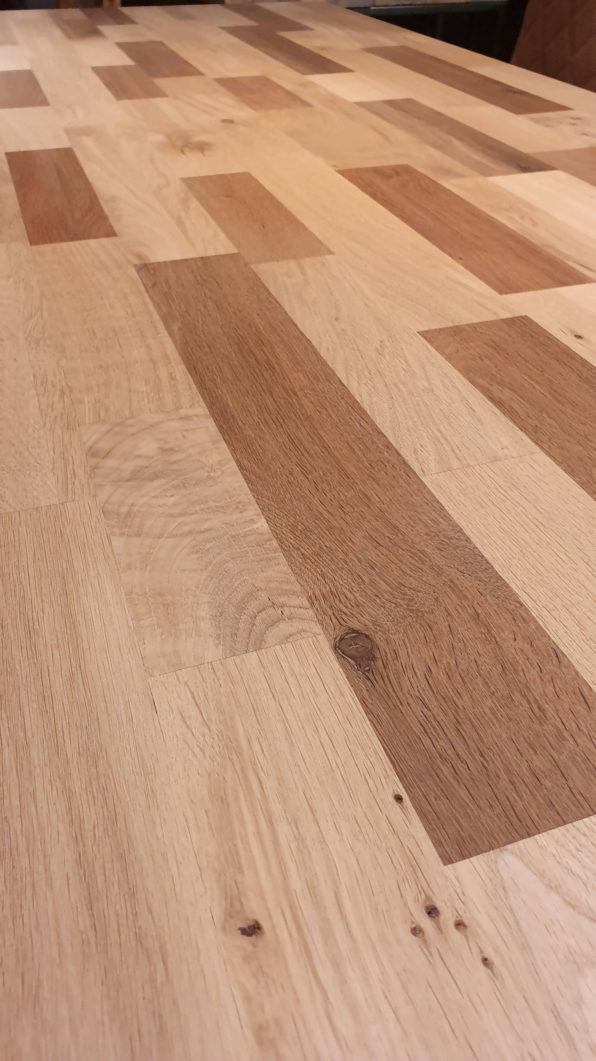 Mixed Wood Tafelblad.Montigny Eettafel