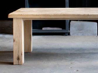 rustiek eiken tafel campo