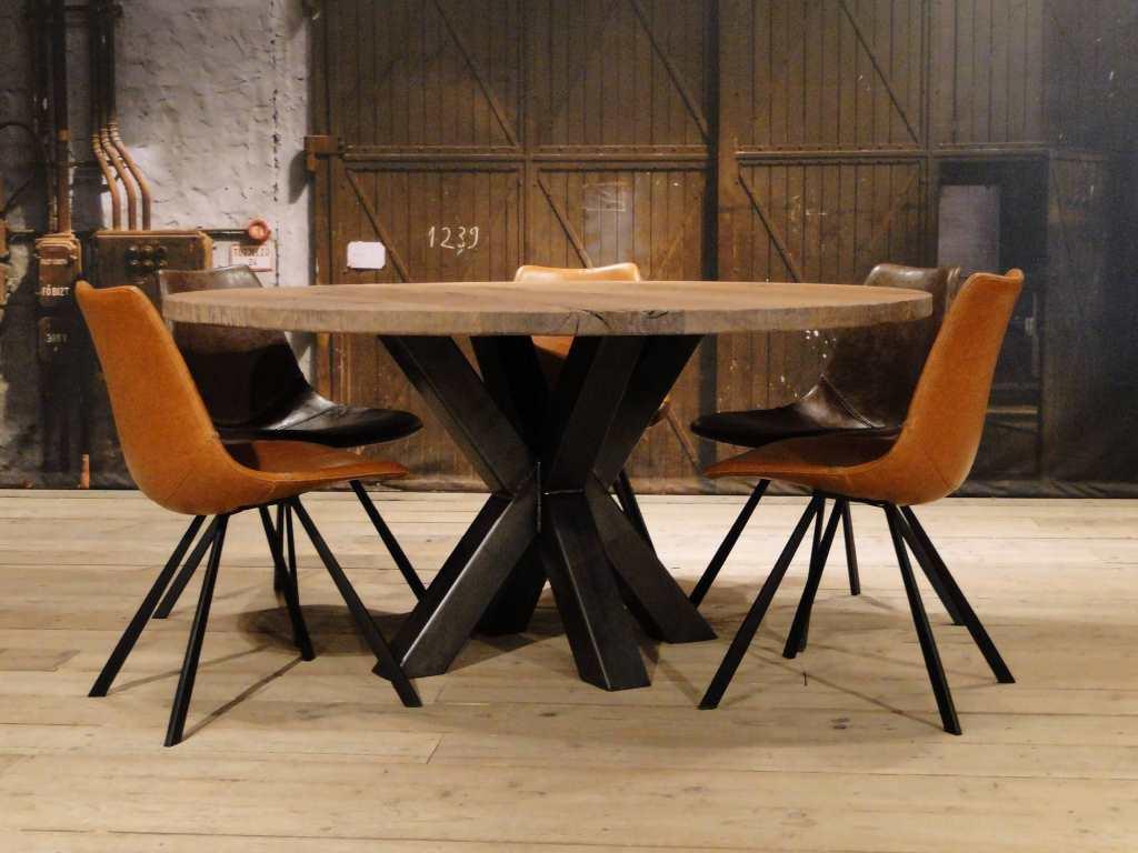 Witte Vierkante Eettafel.Calais Eettafel