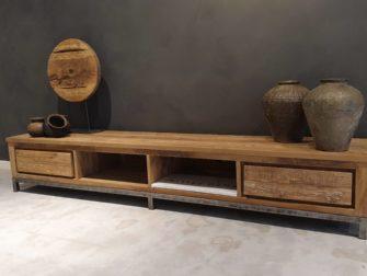 tv-meubel oud teak