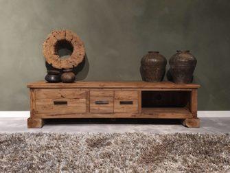 Tv meubel van hout