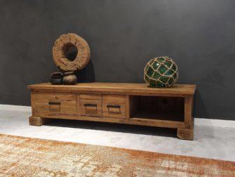stoer tv meubel van hout