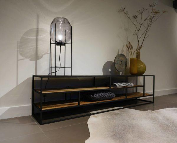 TV-meubel marconi 200x40x50cm - open vakken