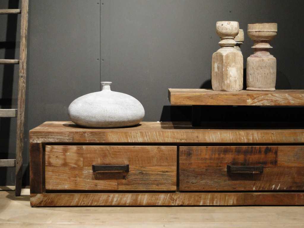 tv-meubel hout