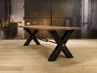 industriele eiken tafel